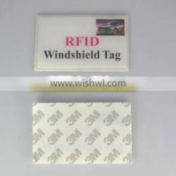 RFID Parking System RFID Professional Labels, 3M Adhesive Sticker for Car Windshield