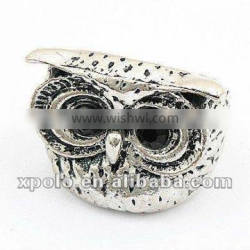 Korean Cute Antique Silver Plated Metal Ring For Finger