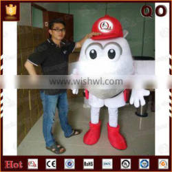 Costume import from China plush cartoon character customized airplane costumes