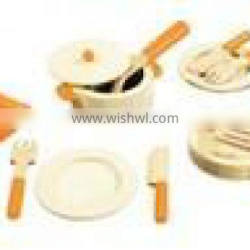 Wooden kitchen sets toy,wooden kitchen tools and accessories