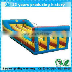large outdoor inflatable bungee running for sale