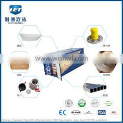 Food grade flexitank for bulk liquid packing and transportation suitable for 20'' container