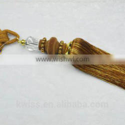 curtains and accessories gold fringe,ball tassel fringe