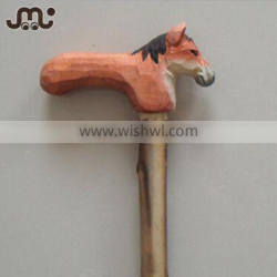 Custom wholesale all kinds of carved wooden walking canes