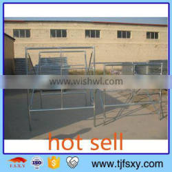 Q235 Ladder Scaffolding With Cross Brace And Joint Pin
