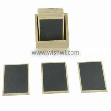 Wooden educational toys for touch tablets