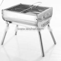 Stainless steel burner bbq skewers charcoal baking oven