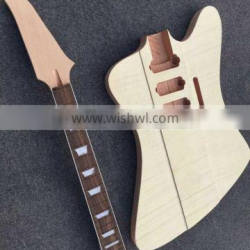 MUSOO Brand Project Electric Unfinish Guitar Kits