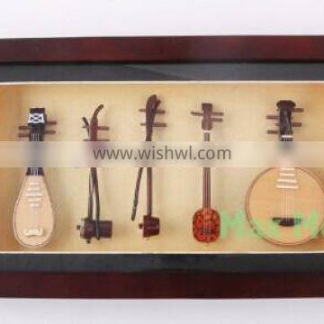 Chinese language educational product for montessori chinese musical instrument set