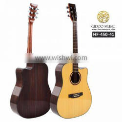 HF musical instruments acoustic guitar from OEM factory HF45041