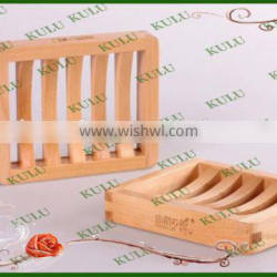 Eco friendly pine wood customized cheap unfished wooden soap box for bathroom