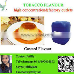 High concentration PG base custard flavour used for eliquid making ,good quality flavour