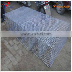 different material mink cages
