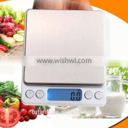 1000g x 0.1g Stainless Digital Pocket Scale Kitchen Scale Jewelry Weight Balance