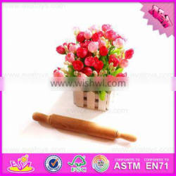 2016 wholesale wooden rolling pin for kitchen,cheap wooden rolling pin for kitchen,high quality wooden rolling pin W02B033