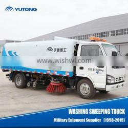 China 3.2m Sweeping width Street Sweeping Truck For Sale