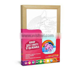 """ART KIT for the Youngest artists """"Rainbow"""", 20*30 cm, """"ROSA KIDS"""""""