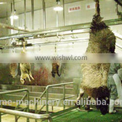 live goat slaughter line Sheep/goat Carcass Processing Manual Conveying Rail butcher machinery of sheep slaughterhouse equipment