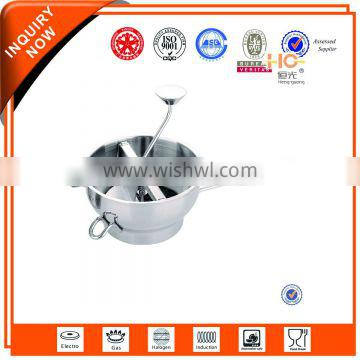 convenient stainless steel vegetable chopper