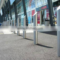 2014 stainless steel parking bollard(ISO,TUV,SGS approved)
