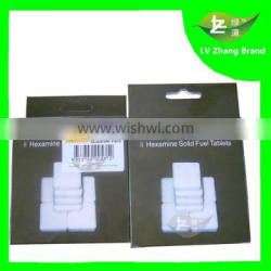 High Quality 8pcs Hexamine Solid Fuel Tablets