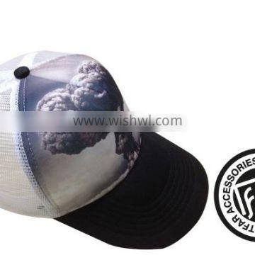 TRUCKER CAPS WITH PRINTING DESIGNS