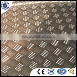 1100/1050/1060/1200 H14,1.0 mm aluminum checkered plate factory in China