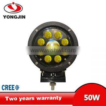 round led work light Super bright 50W spot IP67 3860lm offroad LED work light for truck