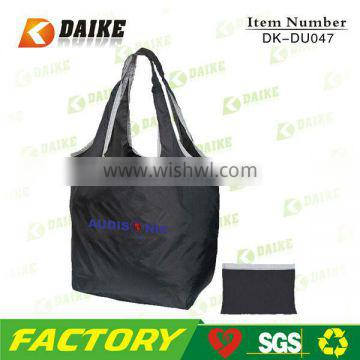 Personalized High Quality Polyester Durable promotion shopper bags DK-DU047