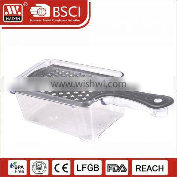 Hot selling& multi-functional Plasitc Grater with bowl
