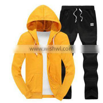 wholesale fashion new designs customs printed cheaper hoodies suits KM0626