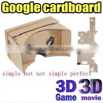 Google Cardboard VR New Supplier, Watching Wonderful Movies with VR Glasses