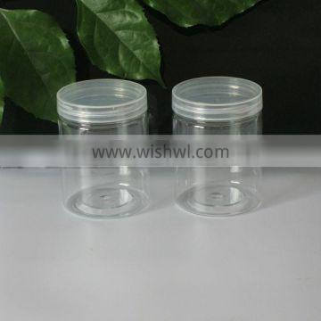 clear plastic can for candy packing