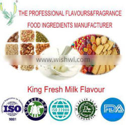 High concentration of natural king fresh milk flavour ,applied for all kind products,Factory direct sale