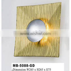 Colorful wall lamps MB-5088-GD