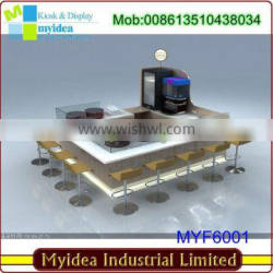 New fashion mall commercial bar furniture restaurant bar counters for sale