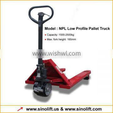 NPL Low profile Pallet Truck with CE Certificate