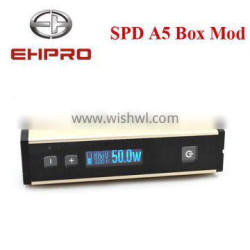 2015 new innovative products 18650 mod temperature control box mod spd a5 fit well rba atomizer ehpro