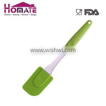 Silicone Kitchen Cooking Utensils Silicone spoon with TPR handle cake tool