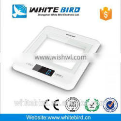 5kg/1g optional digits colour tempered glass digital Scales