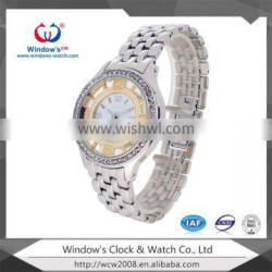 3atm waterproof all stainless steel watch for ladies Supplier's Choice