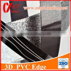 Pvc Edge Banding For Particle board MDF Board 3D edge