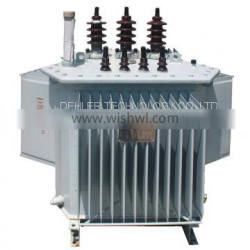 Three-Phase Oil-Immersed Solid Distribution Transformer with Wound Core
