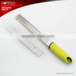 Hot sell stainless steel lemon zester grater with plastic handle Quality Choice