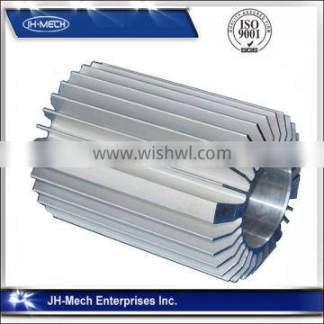6000-T5 Seriers aluminum extruded heat sinks for electrical machine