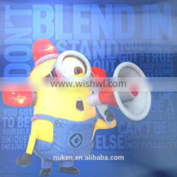 Hot selling high quality CMYK offset printed 3d poster for advertisment