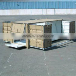 full access and open side container