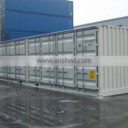 China side open storage container 20ft 40ft shipping container