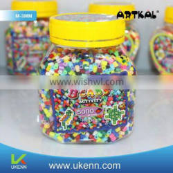 artkal perler beads fuse beads M-3MMassorted wooden bead baby pacifier holder chain