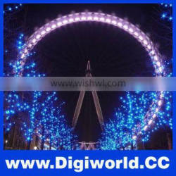 100M Waterproof Outdoor LED String Light 800 Lamps Holiday Decoration